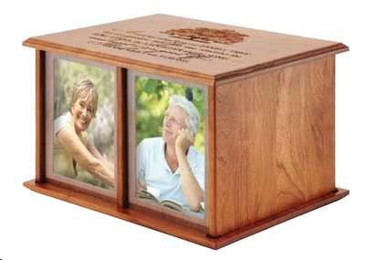 The Good Life Companion 5x7 Photo Urn